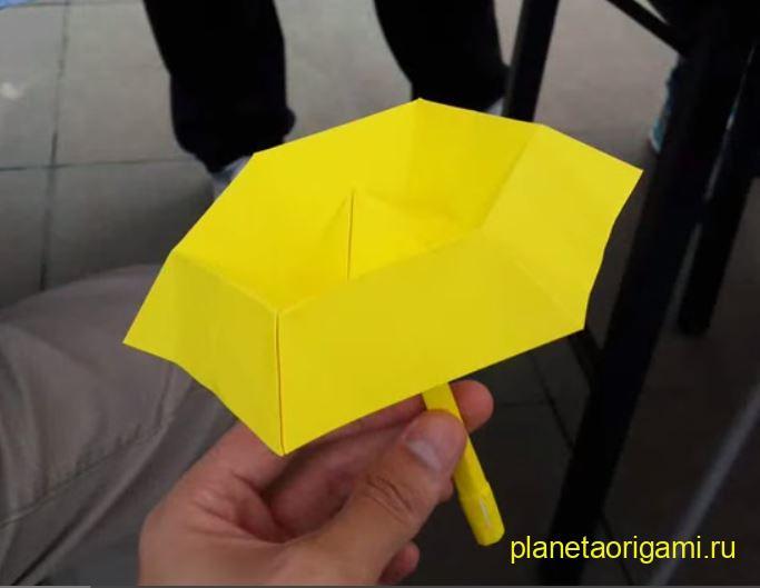 Желтый зонтик по схеме Kade Chan