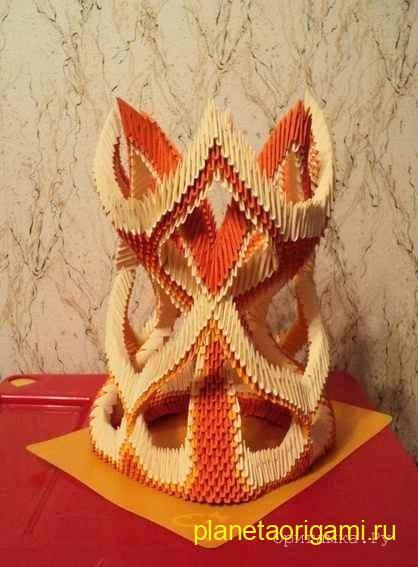 ваза апельсиновые фантазии