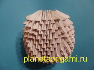модульный жених оригами