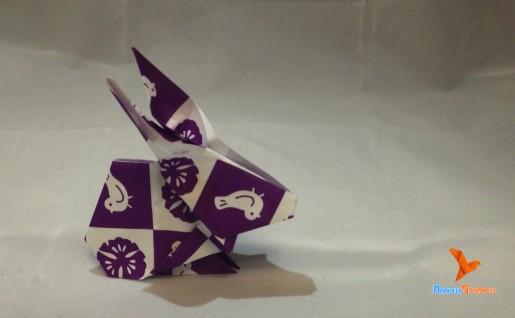 бумажный заяц по схеме Dr. Stephen O`Hanlon