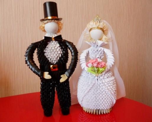 модульные жених и невеста