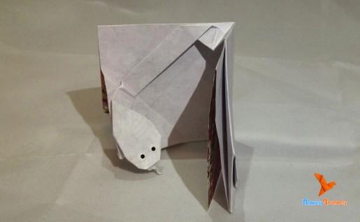 открытка оригами своими руками