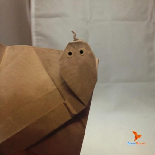 змейка оригами от Jeremy Shafer