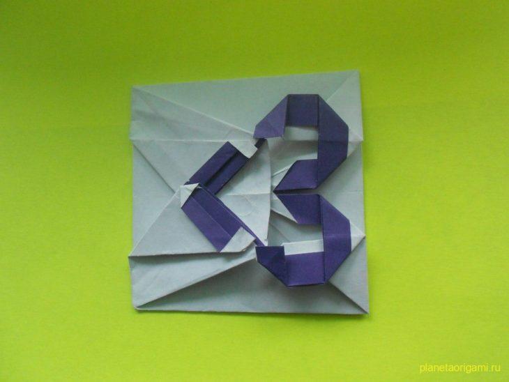 Смайл оригами