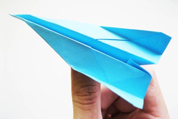 Оригами самолет