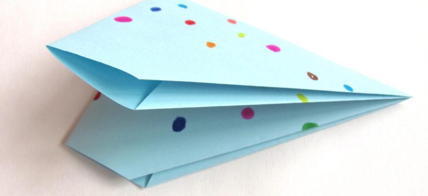 Оригами хлопушка для детей