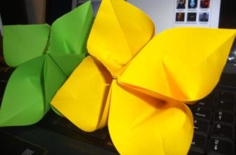 сакура оригами