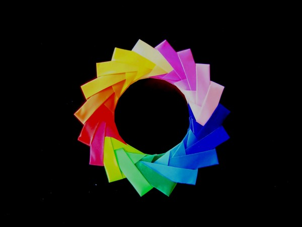 Модульное кольцо оригами