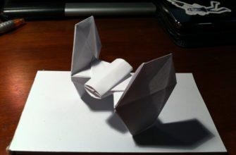TIE Fighter оригами
