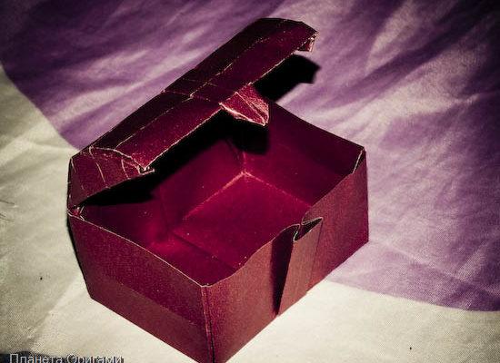 Сундук оригами
