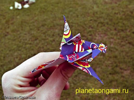 Оригами Jet Fighter