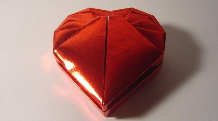 Коробочка-сердечко