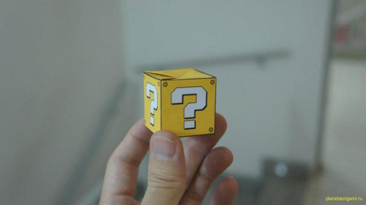 кубик из супер марио