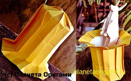 Магическая шляпа из бумаги