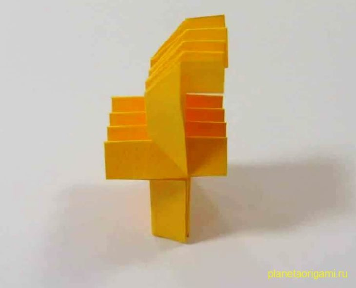 Origami Letter 'f