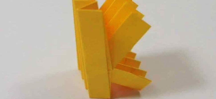 Origami Letter 'k'