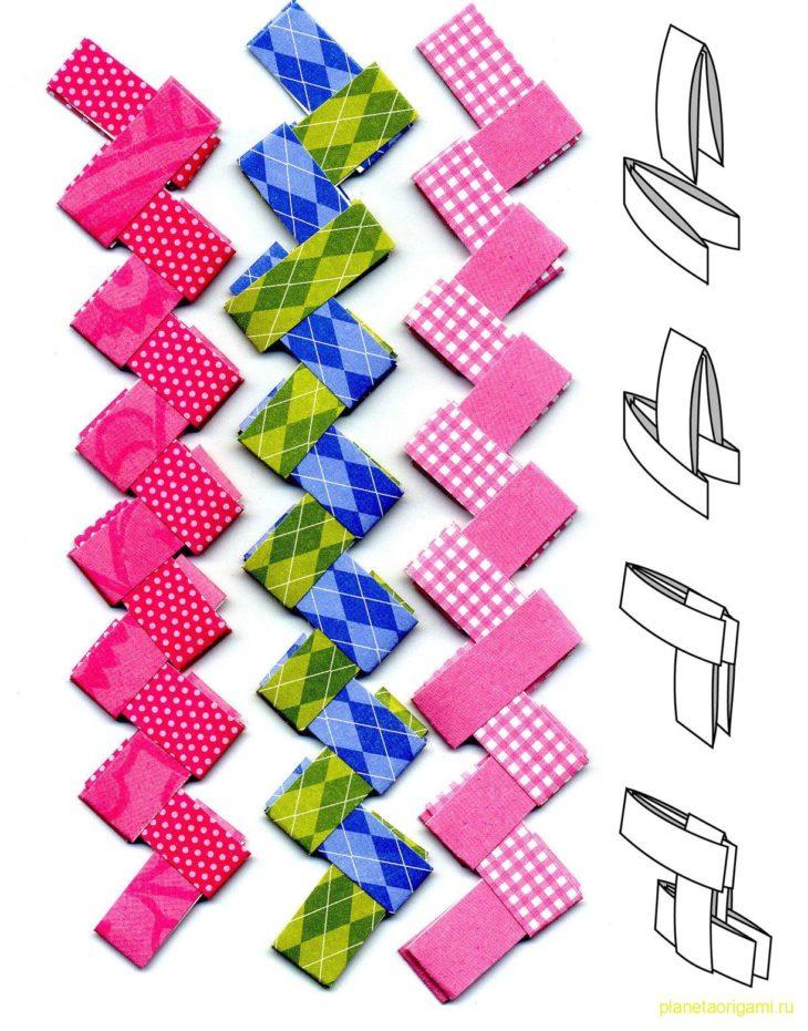 браслеты из цветной бумаги что этих двух