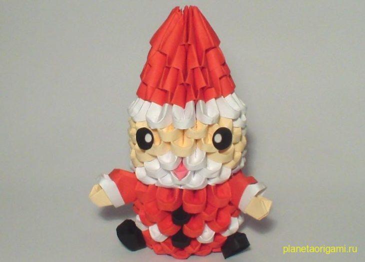 Новогодний оригами