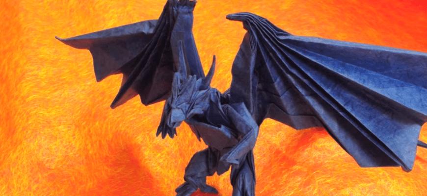 Бахамут (Divine Dragon) по схеме Satoshi Kamiya