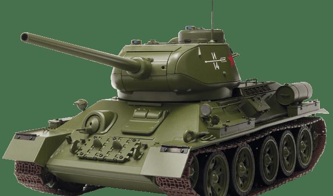 Модель танка Т 34