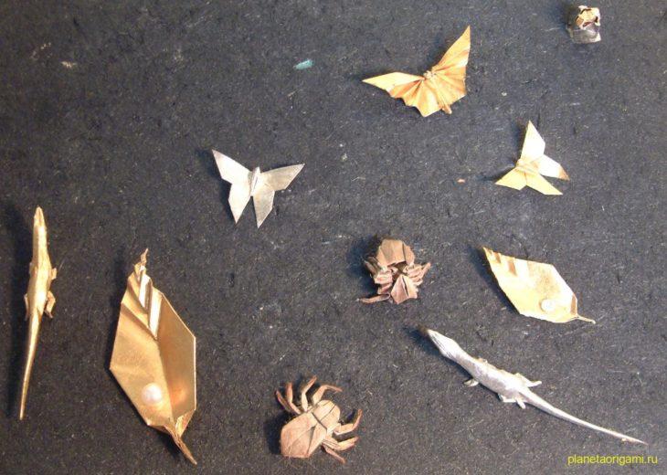 Оригами насекомые
