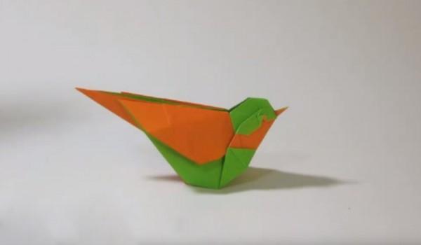 Оригами птица от Seth Friedman