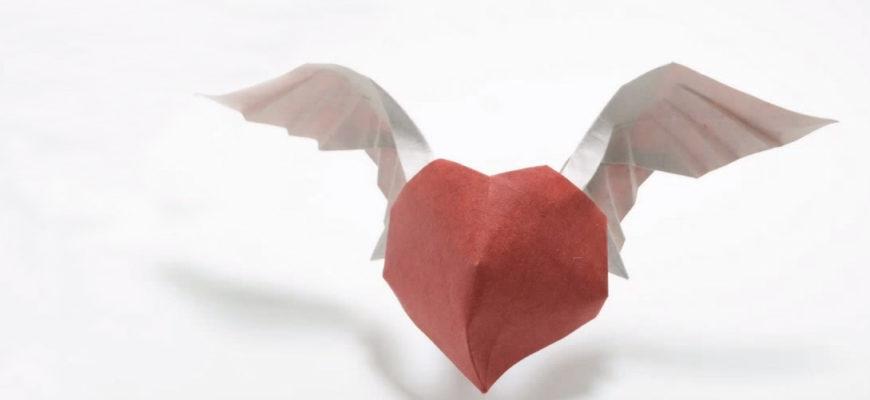 Ангельское сердце по схеме Hoàng Tiến Quyết