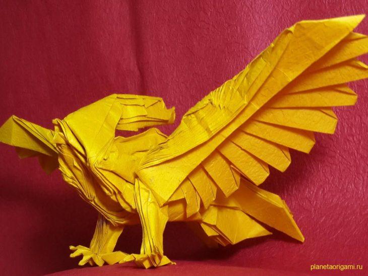 Оригами покемон Pidgeot