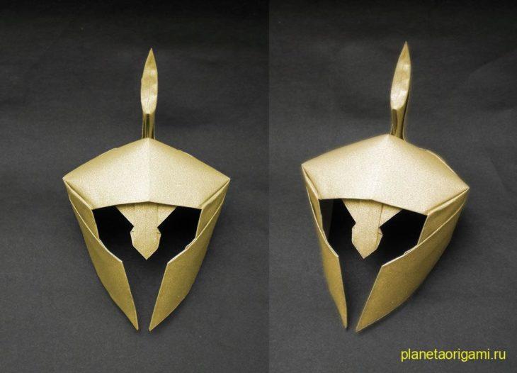 Золотой шлем по схеме Alexander Kurth