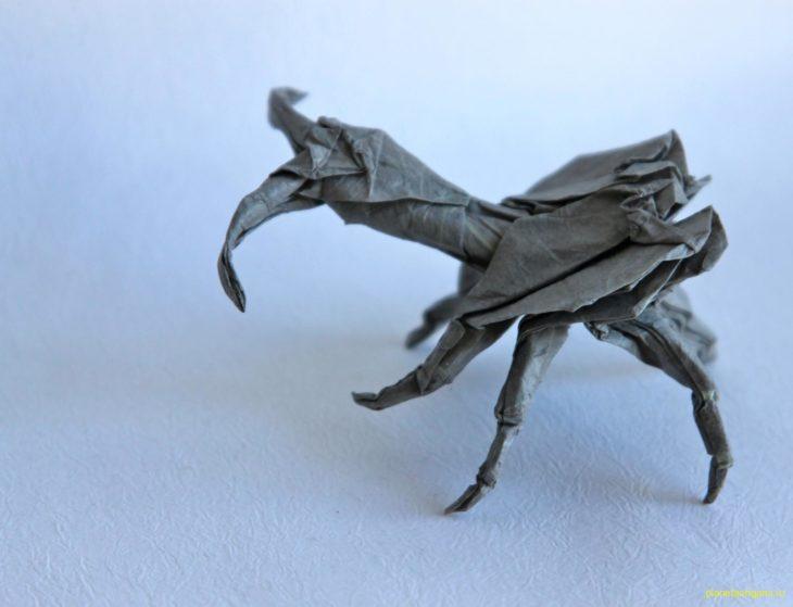 Жук-скрипач (violin beetle) по схеме Manuel Sirgo
