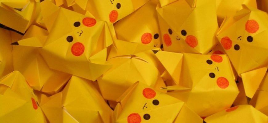 Покемон оригами