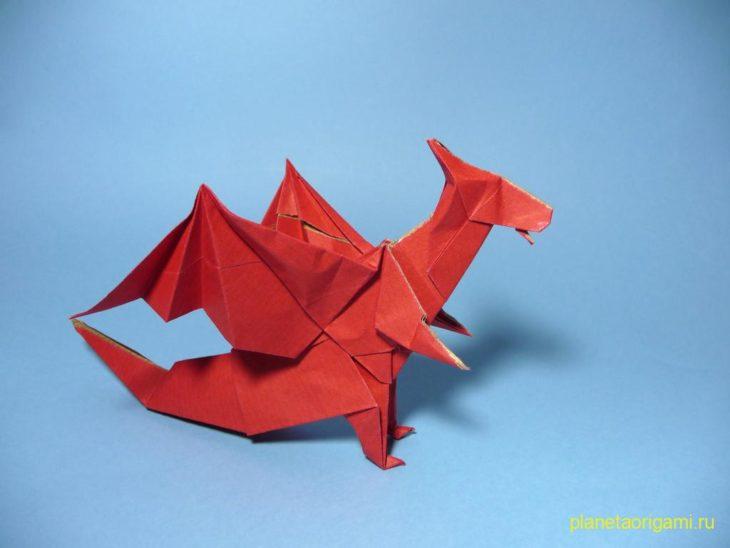 Красный дракон от Jo Nakashima