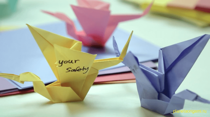 Оригами от Johnson's Baby