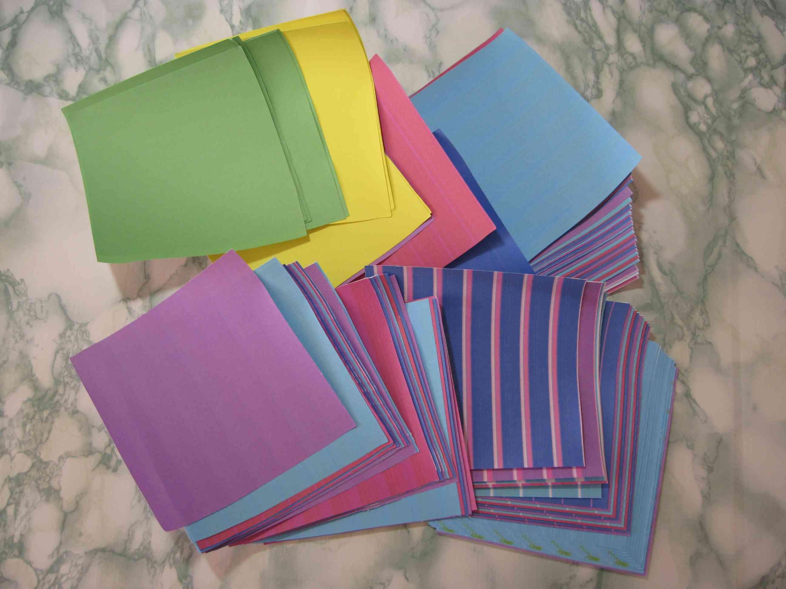 Бумага для оригами