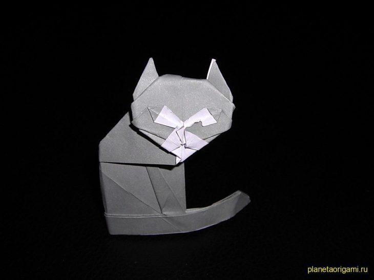 Оригами кот от Gilad Aharoni