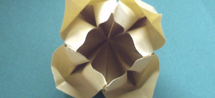 Оригами цветок от Christine Edison