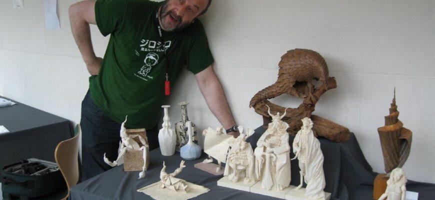 Eric Joisel: великий мастер мокрого оригами