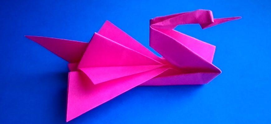Бумажный лебедь от Jo Nakashima