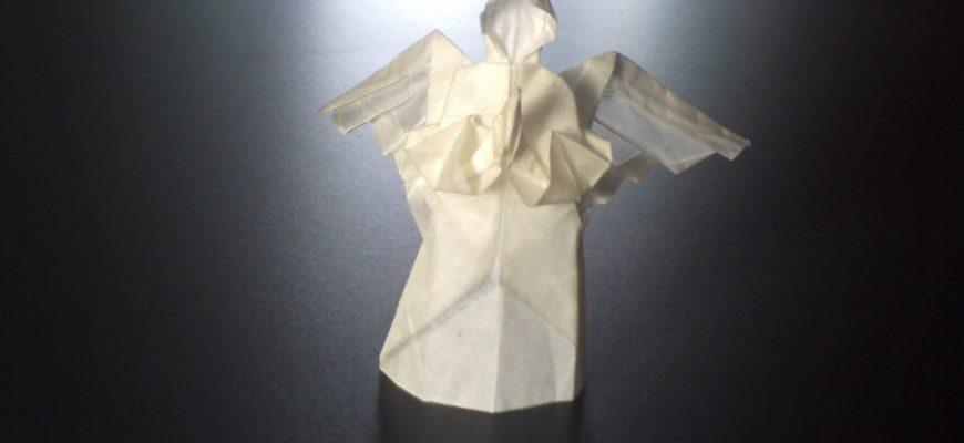 Англел оригами, видео схема