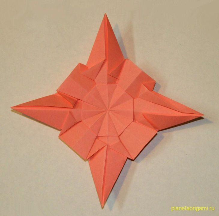 Бриллиантовая звезда (Diamond Star) по схеме Francesco Guarnieri