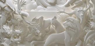 Jeff Nishinaka и его удивительные бумажные скульптуры