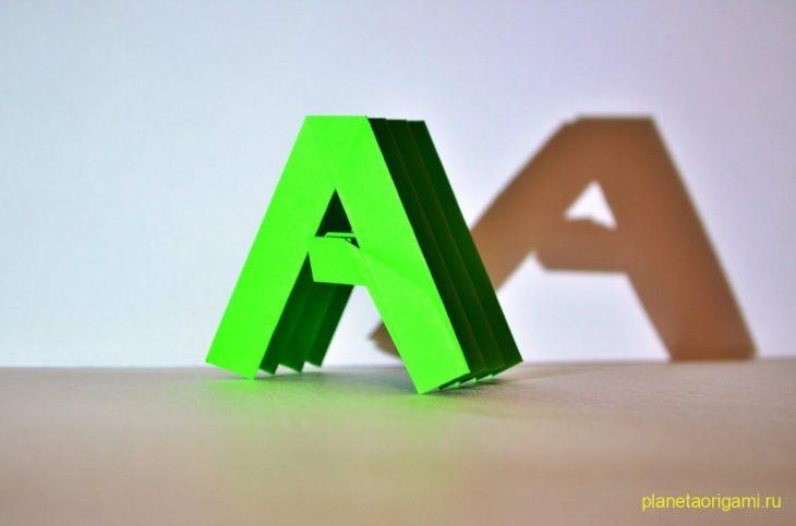 Заглавная и маленькая буква «А»