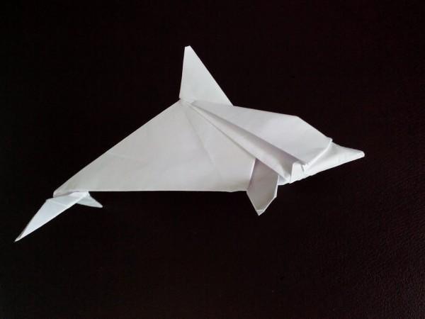 Оригами дельфин своими руками