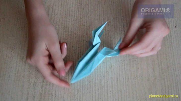 Ракета из бумаги