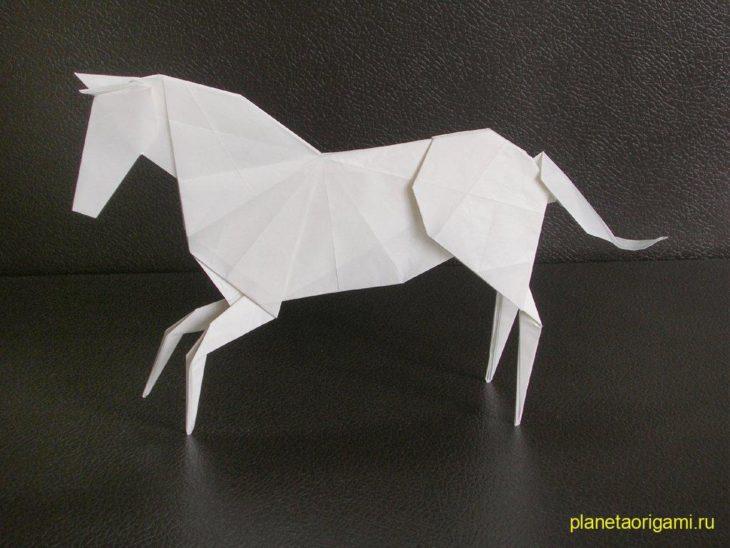 Лошадка по схеме David Brill