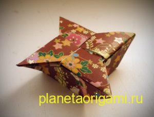 Шестиконечная коробочка-звезда от Робина Глина