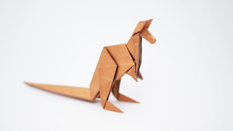 Оригами кенгуру по схеме Джо Накашима (Jo Nakashima)