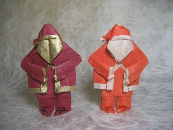 Говорящий оригами-Санта