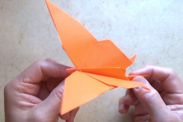 Оригами порхающая бабочка от Джереми Шейфера (Jeremy Shafer)