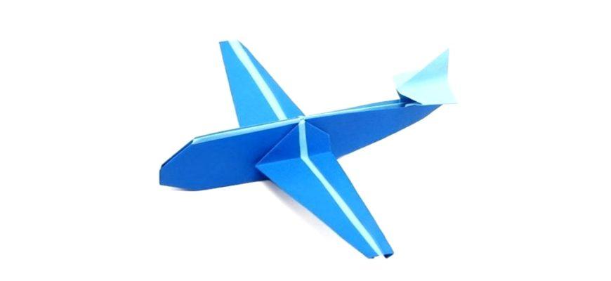 Оригами самолет по схеме Джо Накашима (Jo Nakashima)